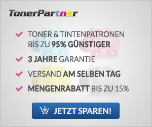 Toner & Titenpatronen bis zu 95% Günstiger